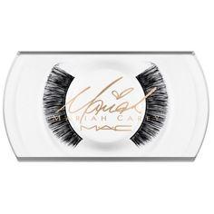 Mac Its Like That Yall Mariah Carey Eye Lashes ($18) ❤ liked on Polyvore featuring beauty products, makeup, eye makeup, false eyelashes and mac cosmetics