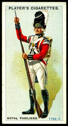 Cigarette Card - Royal Fusiliers, 1792-7 | Flickr - Photo Sharing! #63