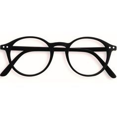 Stylish Black Rounded Reading Glasses ($41) ❤ liked on Polyvore featuring accessories, eyewear, eyeglasses, glasses, sunglasses, fillers, round eyeglasses, round eyewear, reading eye glasses and round glasses