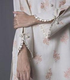 45 Trending sleeve designs for salwar suits Baju ke design Bling Sparkle Neck Designs For Suits, Sleeves Designs For Dresses, Dress Neck Designs, Stylish Dress Designs, Sleeve Designs, Blouse Designs, Salwar Designs, Silk Kurti Designs, Kurta Designs Women