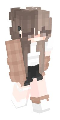 Check out our list of the best Girl Minecraft skins. Minecraft Skins Female, Minecraft Skins Cute, Minecraft Skins Aesthetic, Mine Minecraft, Lego Minecraft, Minecraft Ideas, Minecraft Outfits, Minecraft Stuff, Cool Minecraft Banners