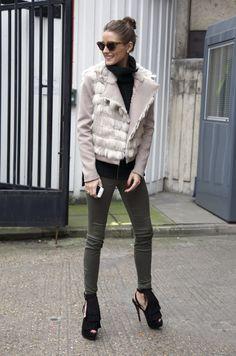 Olivia Palermo, London - Christian Louboutin heels