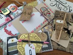 How to wrap your pocket letters by Aideen of EAL Blog. Gorgeous! #pocketletters