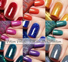Potion Polish Fall for Me Collection swatches and review | Sassy Shelly