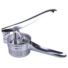 Hight Quality Stainless Steel Potato Masher Ricer Puree Vegetable Fruit Press Maker    FG