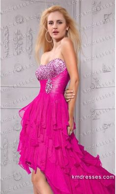 flowy strapless rhinestone encrusted hi lo gownes.prom dresses,formal dresses,ball gown,homecoming dresses,party dress,evening dresses,sequin dresses,cocktail dresses,graduation dresses,formal gowns,prom gown,evening gown.