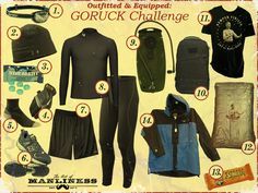 Outfitted & Equipped: GORUCK Challenge (via @lexi Pixel R Taylor of Manliness)