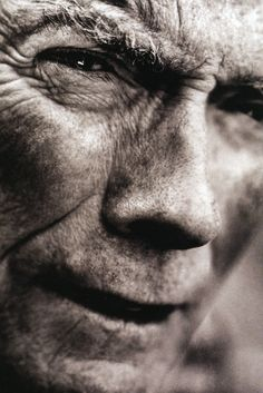 Clint Eastwood.  I love his films, but I think I may love the fact that he reminds me of my grandfather even more.