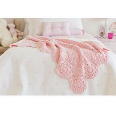 Flowers Crochet Blanket | ZARA HOME Türkiye / Turkey