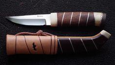 Handgjord kniv av hög kvalite typ Jaktkniv, Fiskekniv, Brukskniv,