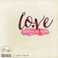 kimeric kreations: A Quirky Hearts wordart cluster to share tonight