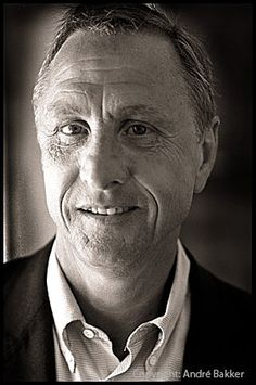 Johan Cruijff  one of the best soccer players ever. The Netherlands