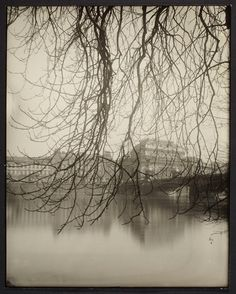 Josef Sudek Prague, The National Theater Across the River Courtesy of AGO/Estate of Anna Farova © 2012 Amazing Photography, Art Photography, Atelier Series, Josef Sudek, National Theatre, Famous Photographers, Monochrom, Commercial Photography, Black And White Photography