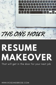Resume Hacks That Will Get You In the Door for Your Next Job Dream