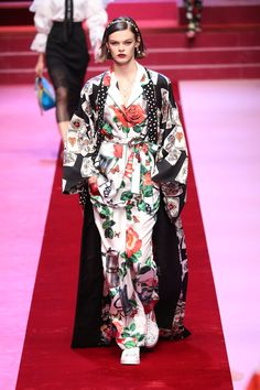 Dolce & Gabbana Put On Another Spectacular Show At Milan Fashion Week