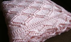 Free Knitting Baby Blanket Pattern | Download by size: Handphone / Tablet / Desktop (Original size)