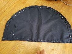 1번 자수여행 자수두건 : 네이버 블로그 Bandanas, Do Rag, Bandana Scarf, Scrub Caps, Hat Making, Head Wraps, Diy And Crafts, Sewing Patterns, Embroidery