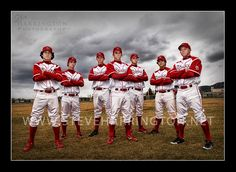 Baseball team photography...I want to do this w/ B's little league team in the Fall.