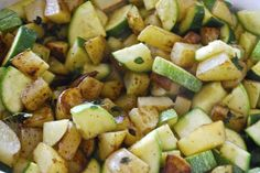 """Point-less"" Meals: Zucchini and Potatoes"