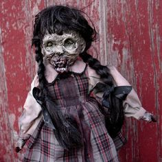 Zombie Doll Cynthia OOAK by grimweasel on Etsy, $127.00