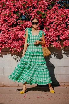 Quirky Fashion, Colorful Fashion, Spring Summer Fashion, Spring Outfits, Spring Style, New Dress, Dress Up, Frilly Dresses, Weekend Style