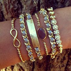 Infinity Stack- the rest of the bracelets on this site are to die for!