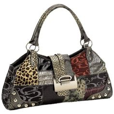 Patchwork Purse is a wild design. This purse is what I call a purse for the party.