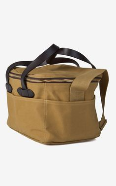 Filson Large Soft-Sided Cooler Bag Tan Filson bag available at:  SHOP FILSON Free Delivery & Free Returns in Europe www.beaubags.com www.beaubags.de www.beaubags.nl