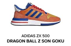 ce7928c00 Brand New Addias ZX 500 RM x Dragonball Z   SON GOKU   Men size 9