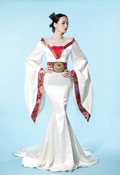 Check out this Classy ladies fashion ideas Fashion Moda, Womens Fashion, Ladies Fashion, Collection Eid, Estilo Hippie, Gowns Of Elegance, Fantasy Dress, Oriental Fashion, Tiger