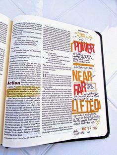 Bible Journaling : Hebrews 10:24-25 | Bonita Rose