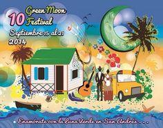Resultado de imagen para festival de la luna verde