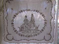 c1900 EXQUISITE Antique Appenzell Lace Madeira by BellaBordello, $260.00