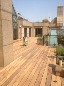 Roof top refurbishment for a Jubilee party Hardwood Floors, Flooring, Refurbishment, Roof Top, Restoration, Deck, Outdoor Decor, Party, Home Decor