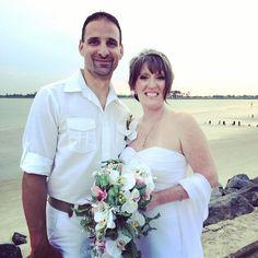 CONGRATULATIONS John and Casey!!! #stephenpalmerweddings #tybeeisland #beachwedding