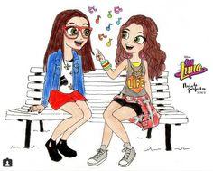 """@nadadeperfectas Nina y Luna. """"Sin fronteras""""."""