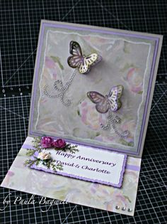 Paula's Space: More Anniversary Easel Cards