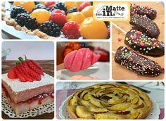 Ricette estive dolci alla frutta, gelati, crostate, clafoutis, crostate, plumcake, dolcetti alla frutta e altro ancora trovate in questa raccolta.
