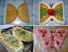 ⁂: Come realizzare una torta a forma di farfalla