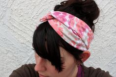 jersey knit turban headband