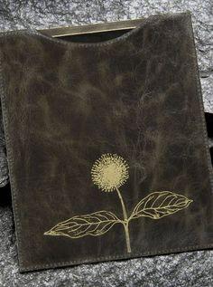 Recycled Leather Ipad Sleeve