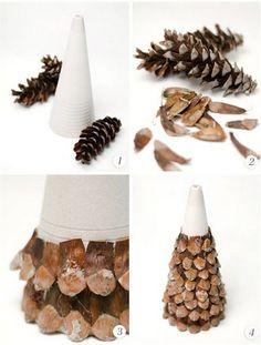 transformar-pinas-secas-en-pinos-de-navidad.jpg (349×461)