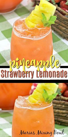 Drink Recipes Nonalcoholic, Drinks Alcohol Recipes, Non Alcoholic Drinks, Cocktails, Punch Recipes, Cake Recipes, Dessert Recipes, Strawberry Drinks, Fruit Drinks