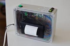 Descriptive Camera: An Instant Camera that Prints Text Instead of Photos Gadgets, Thermal Printer, Instant Camera, Camera Settings, Photos, Pictures, Creative, Told You So, Geek Stuff
