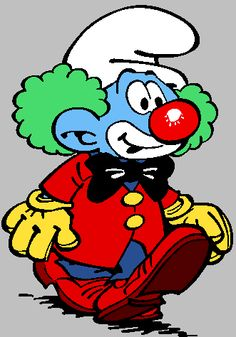 Send In The Clowns, The Fool, Smurfs, Creations, Clip Art, Fictional Characters, Gifs, Disney, The Smurfs