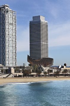 Hotel Arts Barcelona, Spain is the FHRNews #AmexFHR #luxury #hoteloftheday for Friday, October 7.