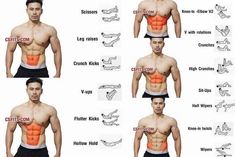 Total Abs Exercises ✅ @shredded.union - #shreddedunion #abs #exercise #workout