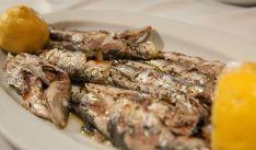 Σαρδέλες λαδορίγανη στο φούρνο !!! ~ ΜΑΓΕΙΡΙΚΗ ΚΑΙ ΣΥΝΤΑΓΕΣ Greek Recipes, Fish Recipes, Seafood Recipes, Cooking Recipes, Fish And Seafood, Deserts, Pork, Food And Drink, Beef