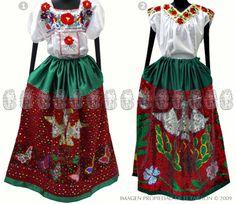 Vestido de china poblana