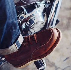 Selvedge/Red Wing/Harley